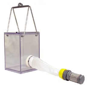 A Schindler-Patalas plankton trap. http://www.hoskin.ca/catalog/index.php?main_page=index&cPath=1_57_387_396_392