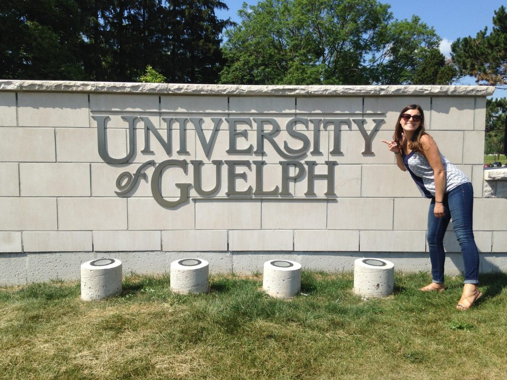 I really enjoyed my visit to Guelph and learning at the University