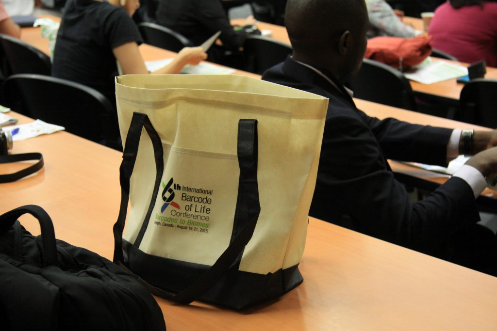 Conference participants' tote bag