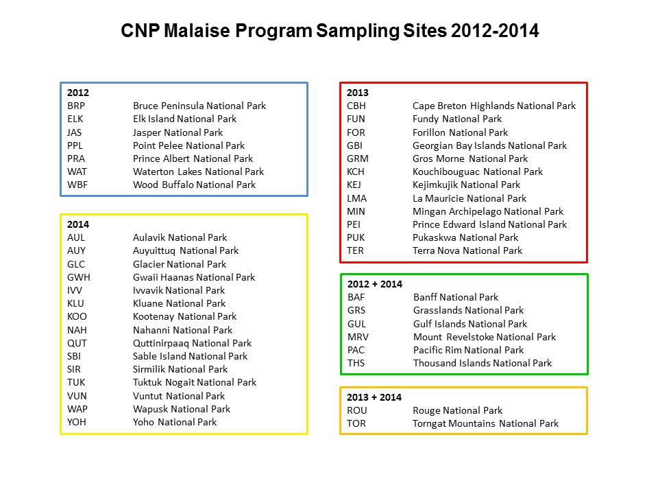 CNP 2012-2014 map legend